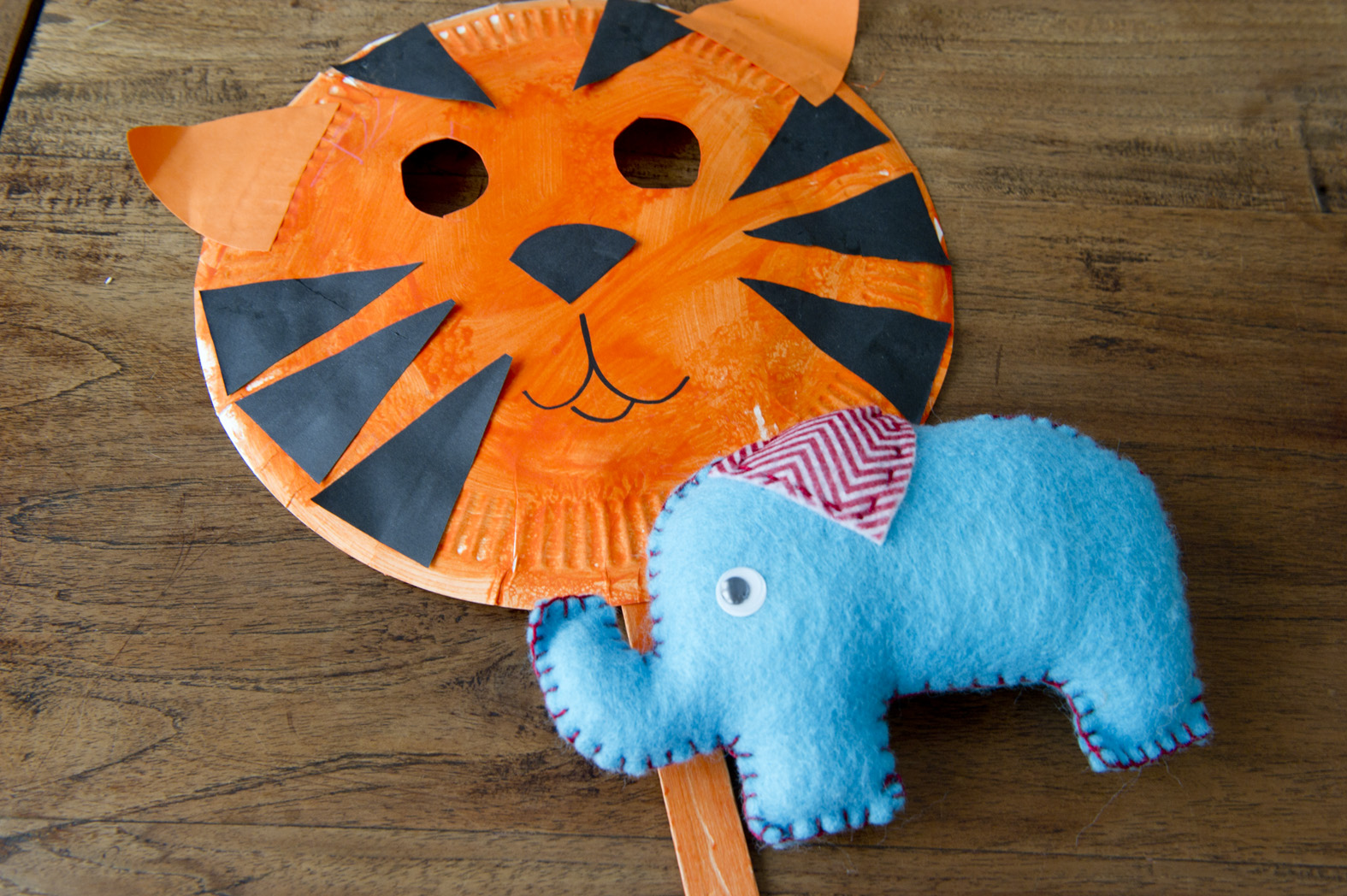 & Craft for Kids: Tiger Mask | The Little Singapore Book Companion